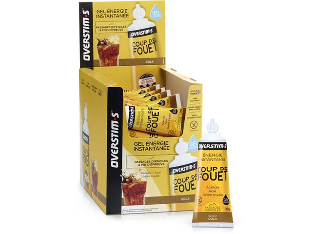 OVERSTIM.s Coup de Fouet Liquid Gel Box 36x30g Cola